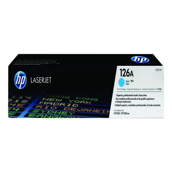 HP - CLJ CP1025 Cyan Print Cartridge [CE311A]