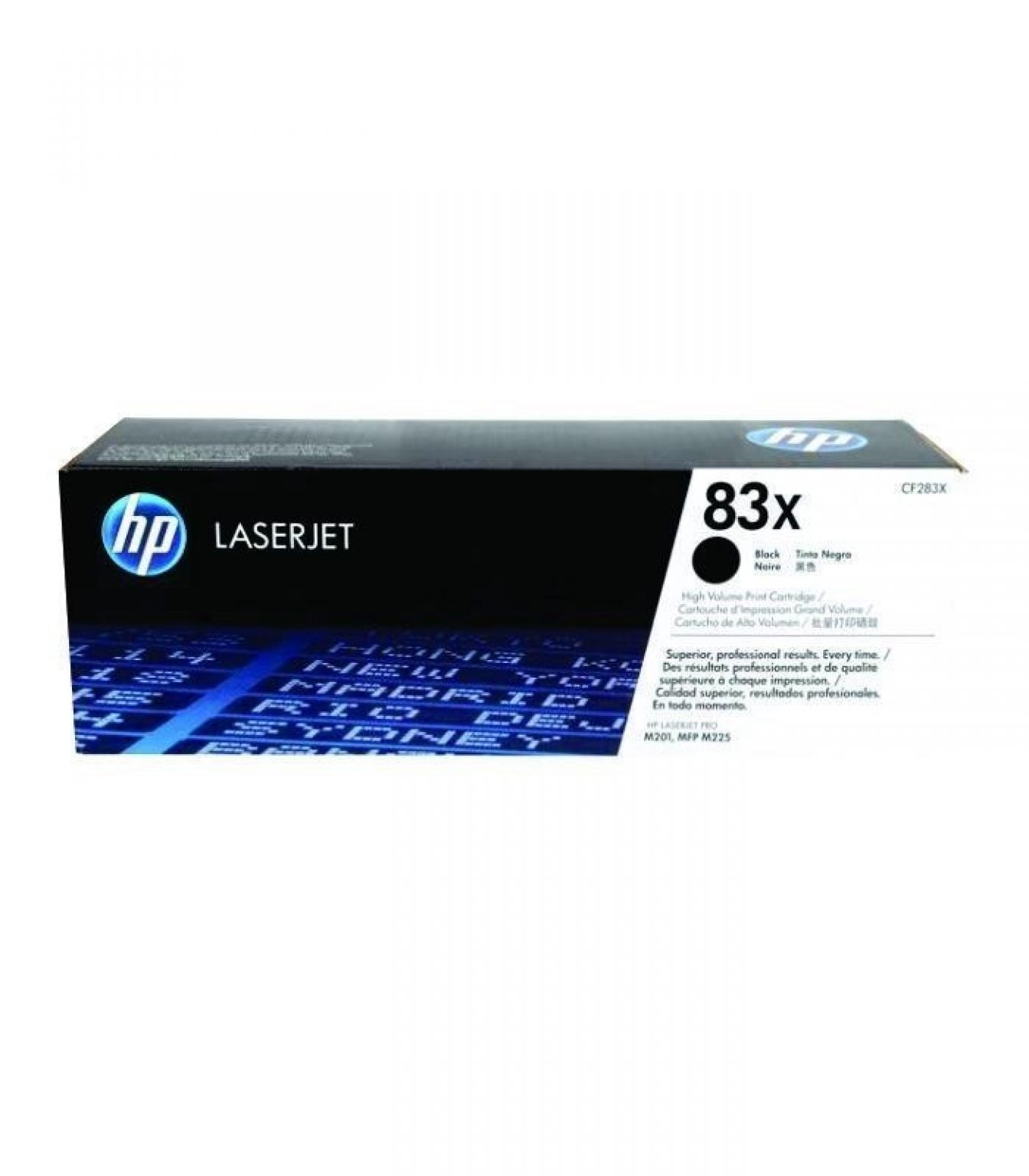 HP - LaserJet 83X Black Toner Cartridge [CF283X]