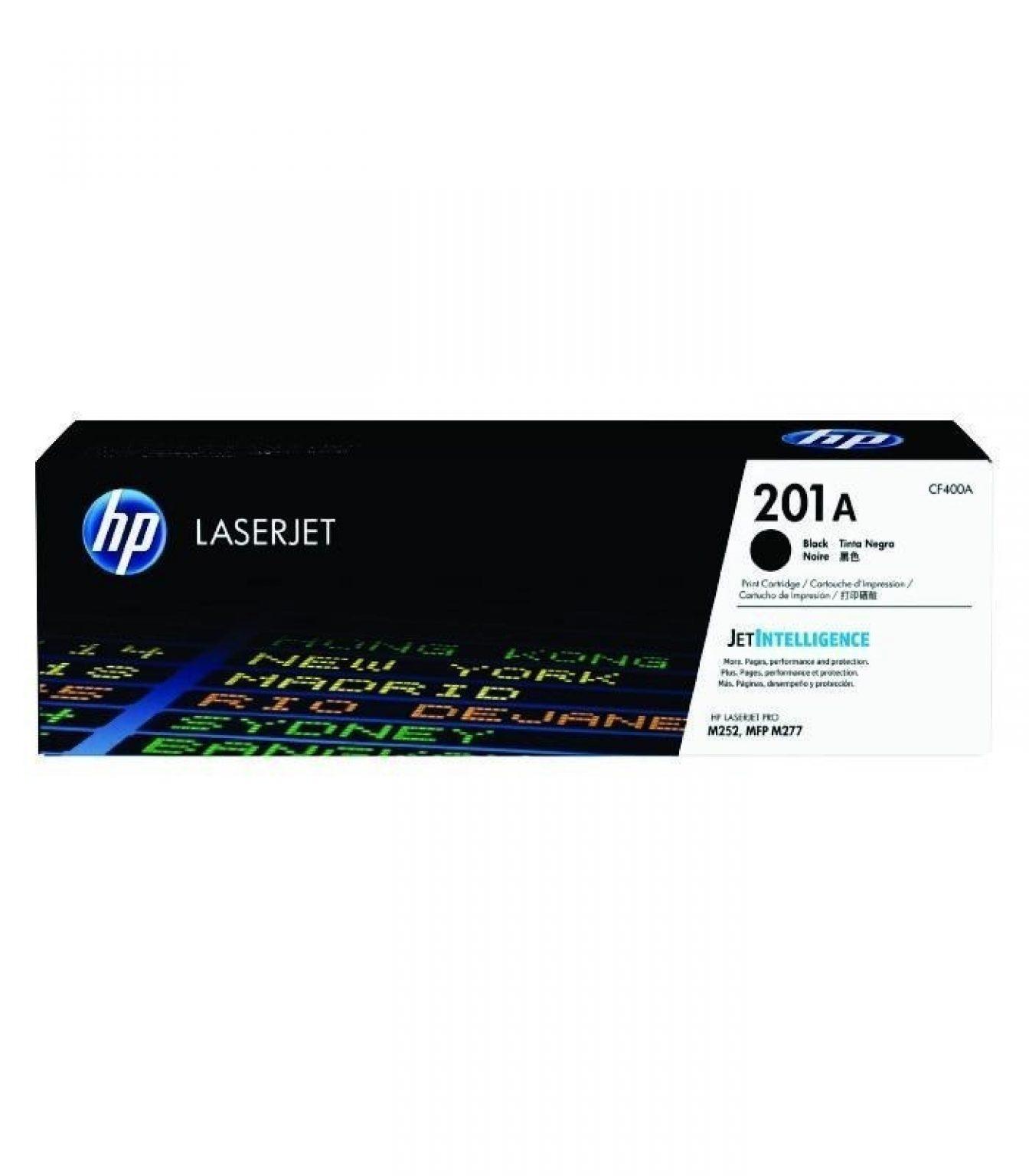 HP - 201A Black LaserJet Toner Cartridge [CF400A]