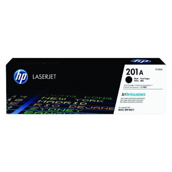 HP - 201A Black LaserJet Toner Cartridge [CF400A]