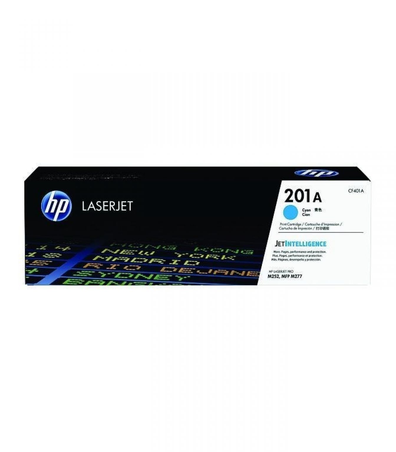 HP - 201A Cyan LaserJet Toner Cartridge [CF401A]
