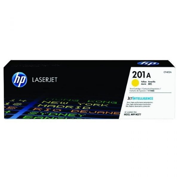 HP - 201A Yellow LaserJet Toner Cartridge [CF402A]