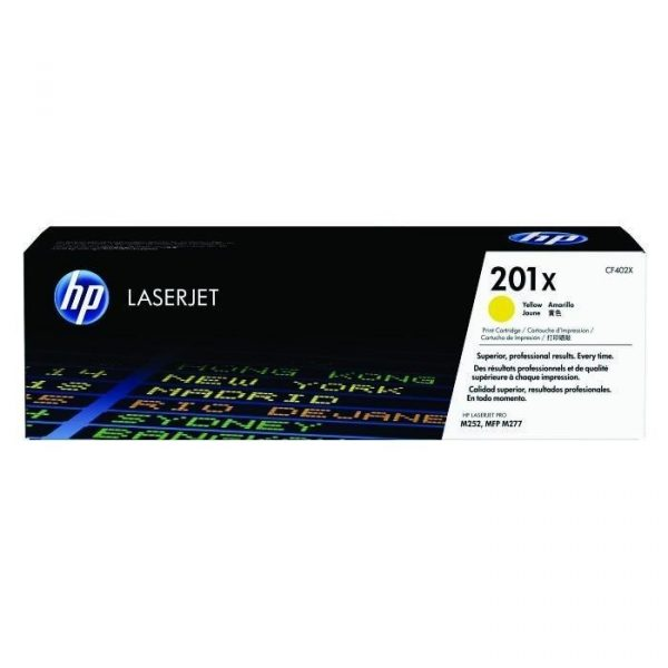 HP - 201X Yellow LaserJet Toner Cartridge [CF402X]