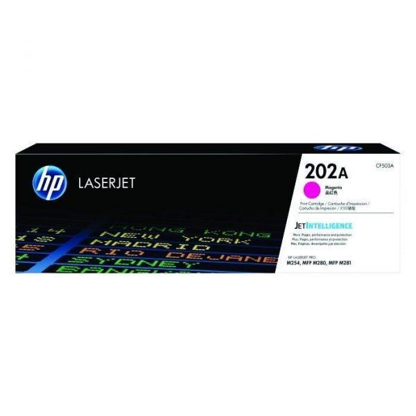 HP - 202A Magenta LaserJet Toner Cartridge [CF503A]