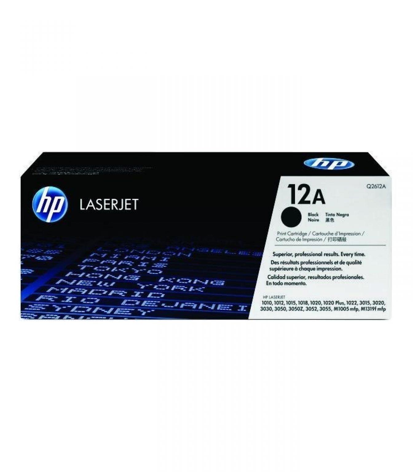 HP - LaserJet 1000/3000 Series Black Cartridge [Q2612A]