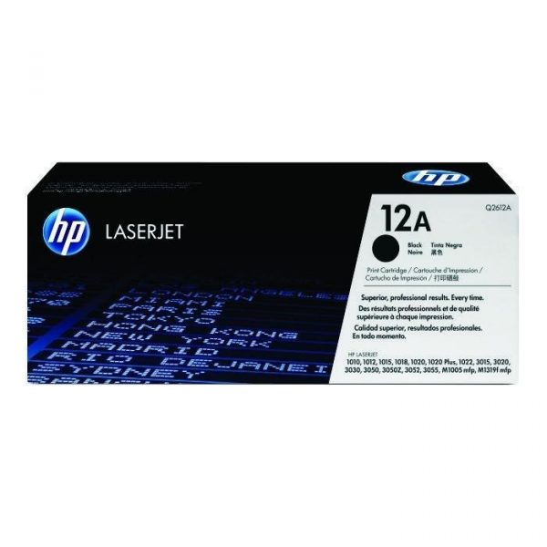 HP - LaserJet 1000/3000 Series Black Cartridge [Q2612A]