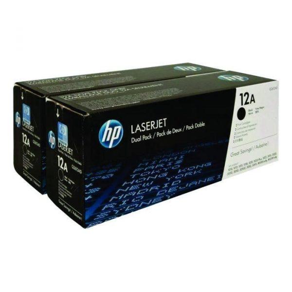 HP - LaserJet 1000/3000 Cartridge Dual Pack [Q2612AD]