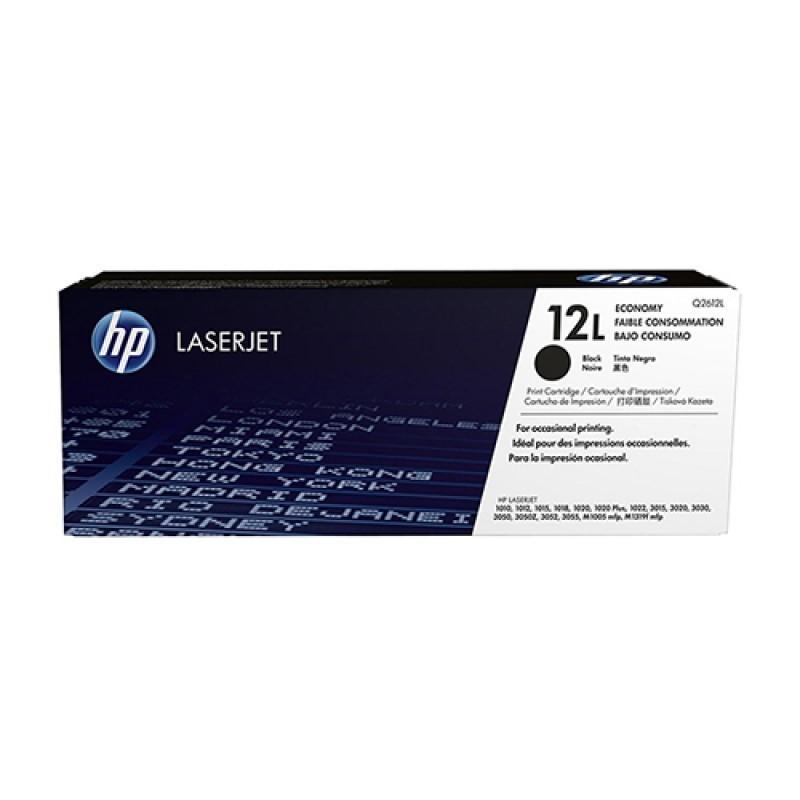 HP - 12L Blk LJ Toner Cartridge [Q2612L]