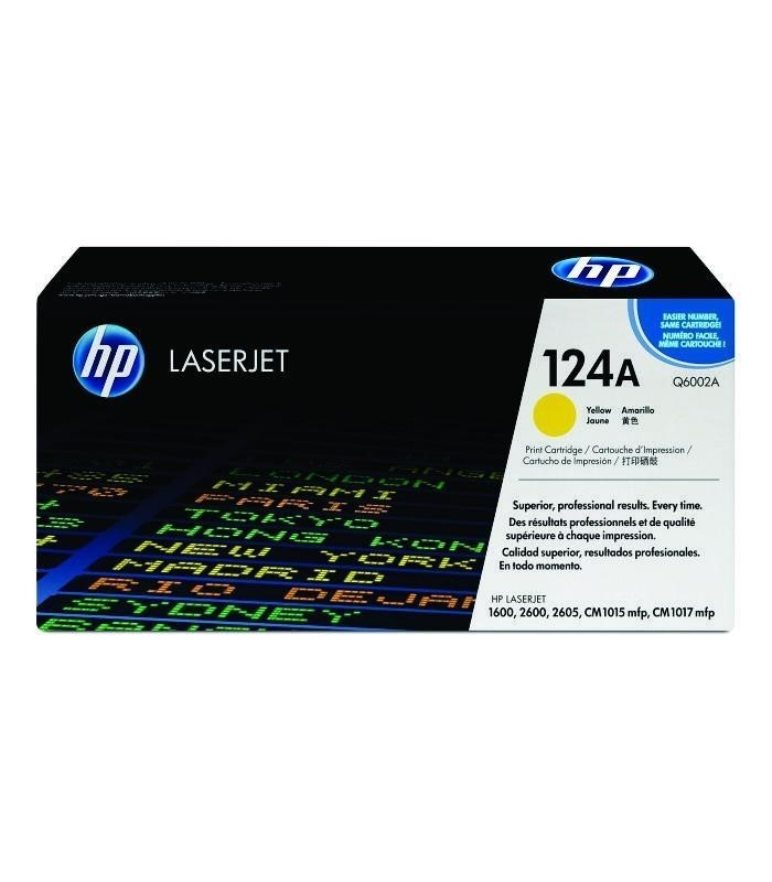HP - LaserJet 2600/2605/1600 Yellow Cartridge [Q6002A]