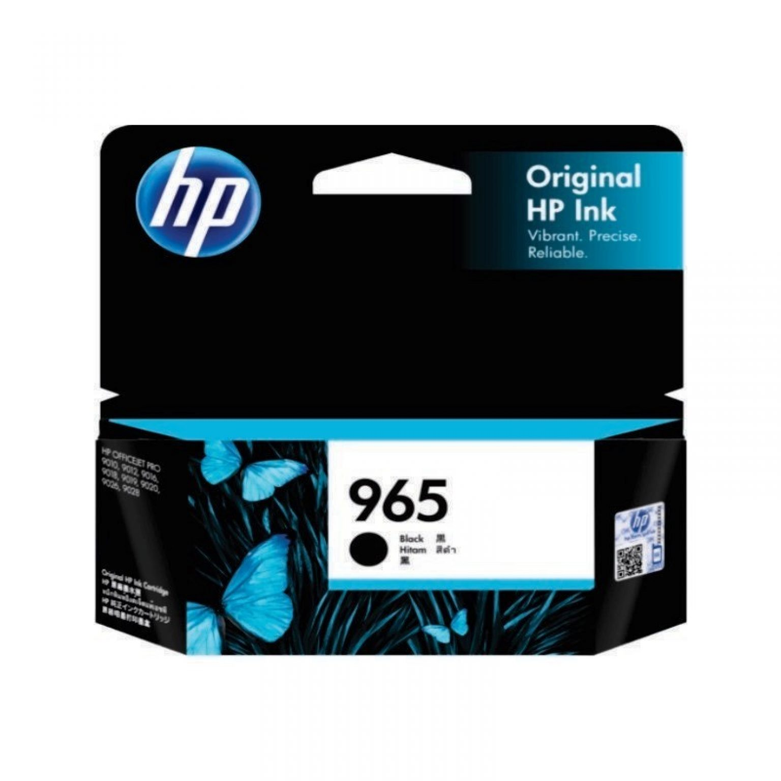 HP - 965 Black Original Ink Cartridge [3JA80AA]