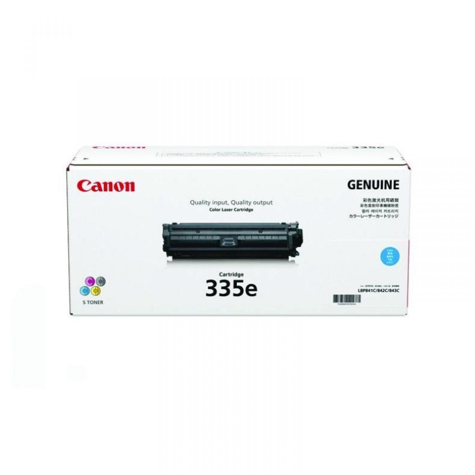 CANON - Toner cartridge Eco 335 cyan for LBP841CDN/843CX [EP335E_C]