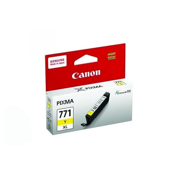 CANON - Ink Cartridge CLI-771 Yellow XL [CLI771Y XL]