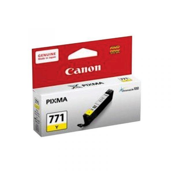 CANON - Ink Cartridge CLI-771 Yellow [CLI771Y]