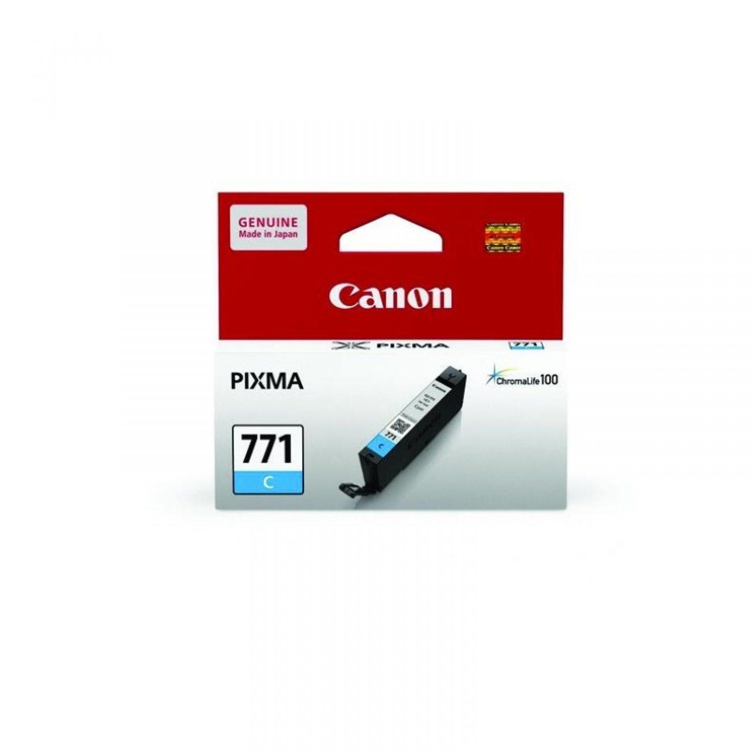 CANON - Ink Cartridge CLI-771 Cyan [CLI771C]