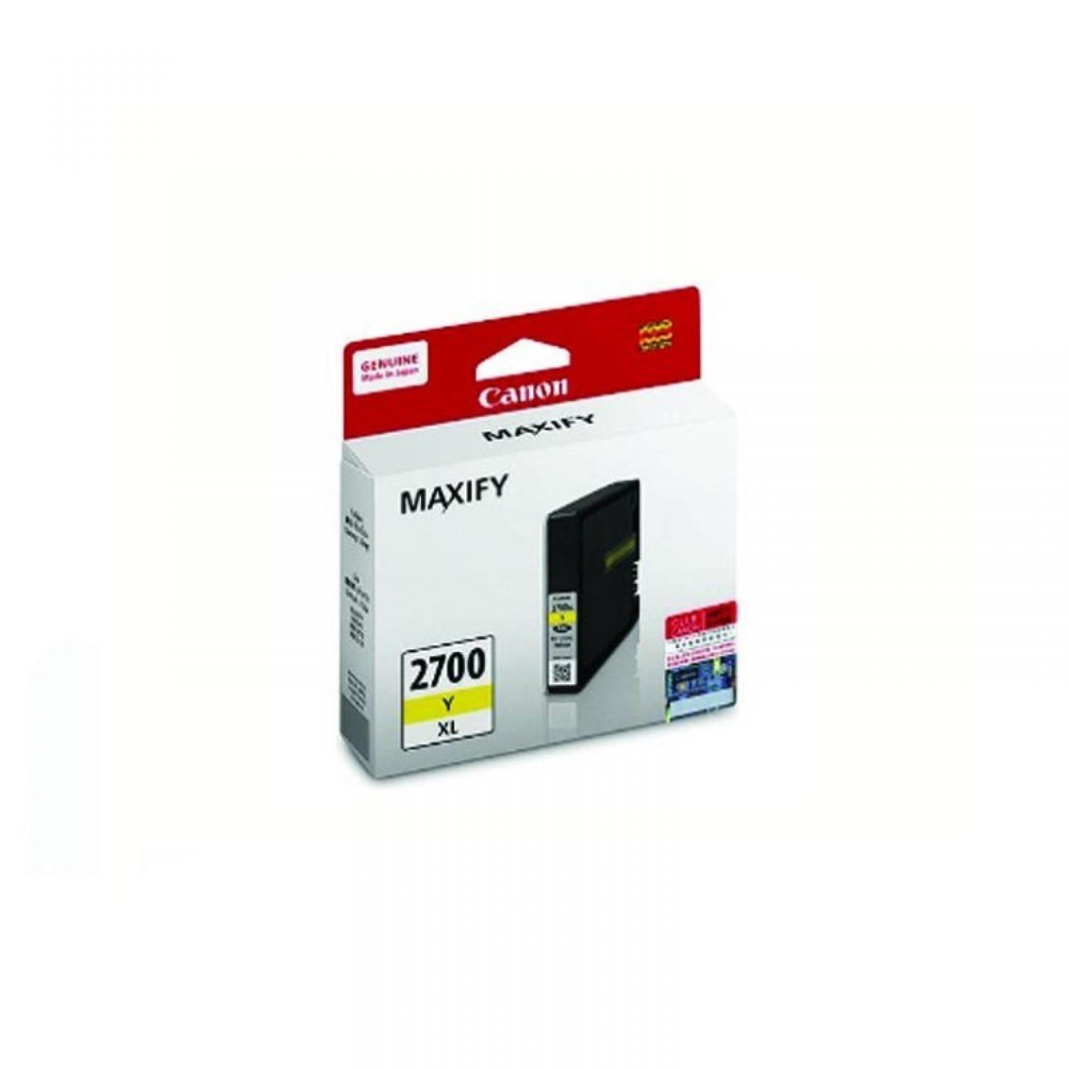 CANON - Ink Cartridge PGI-2700 Yellow XL [PGI2700Y-XL]