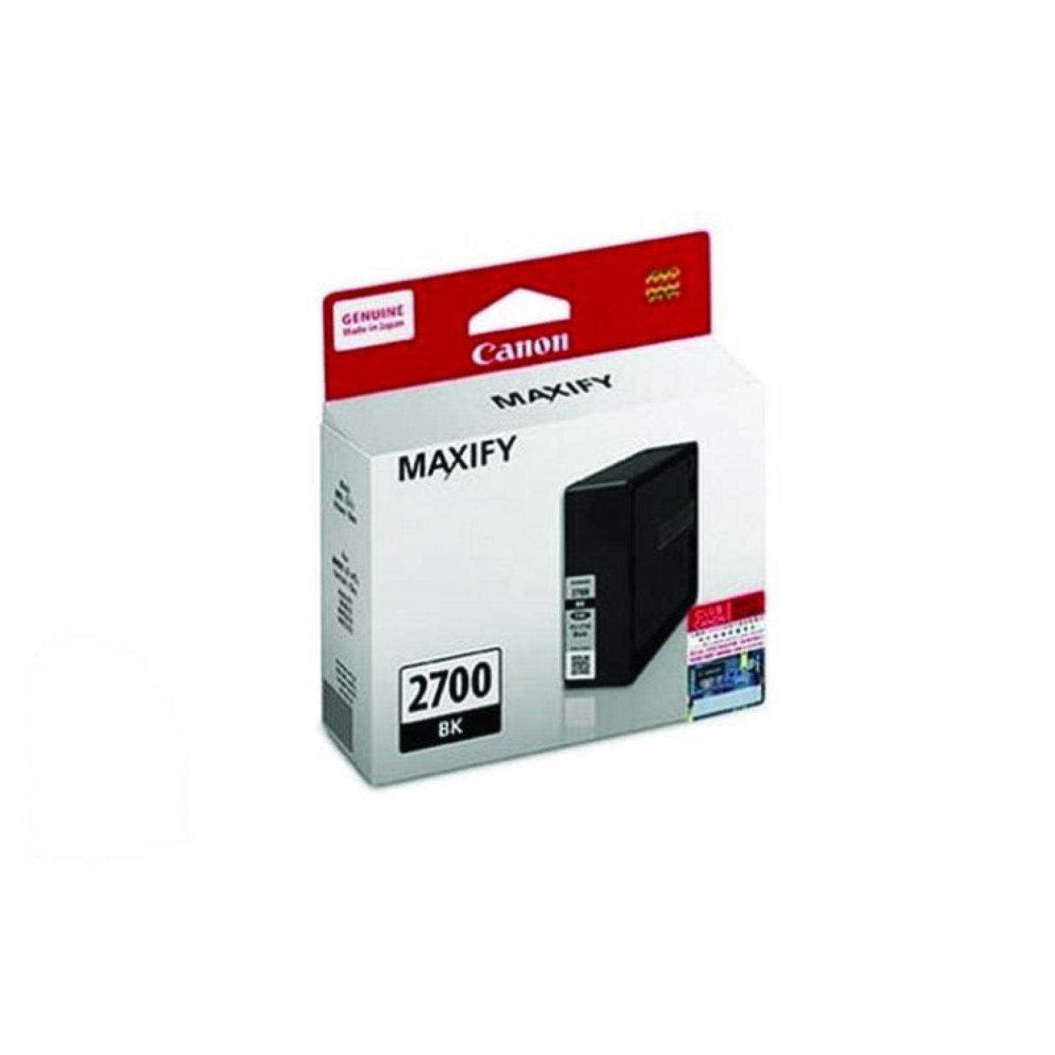 CANON - Ink Cartridge PGI-2700 Black for Maxify [PGI2700B]