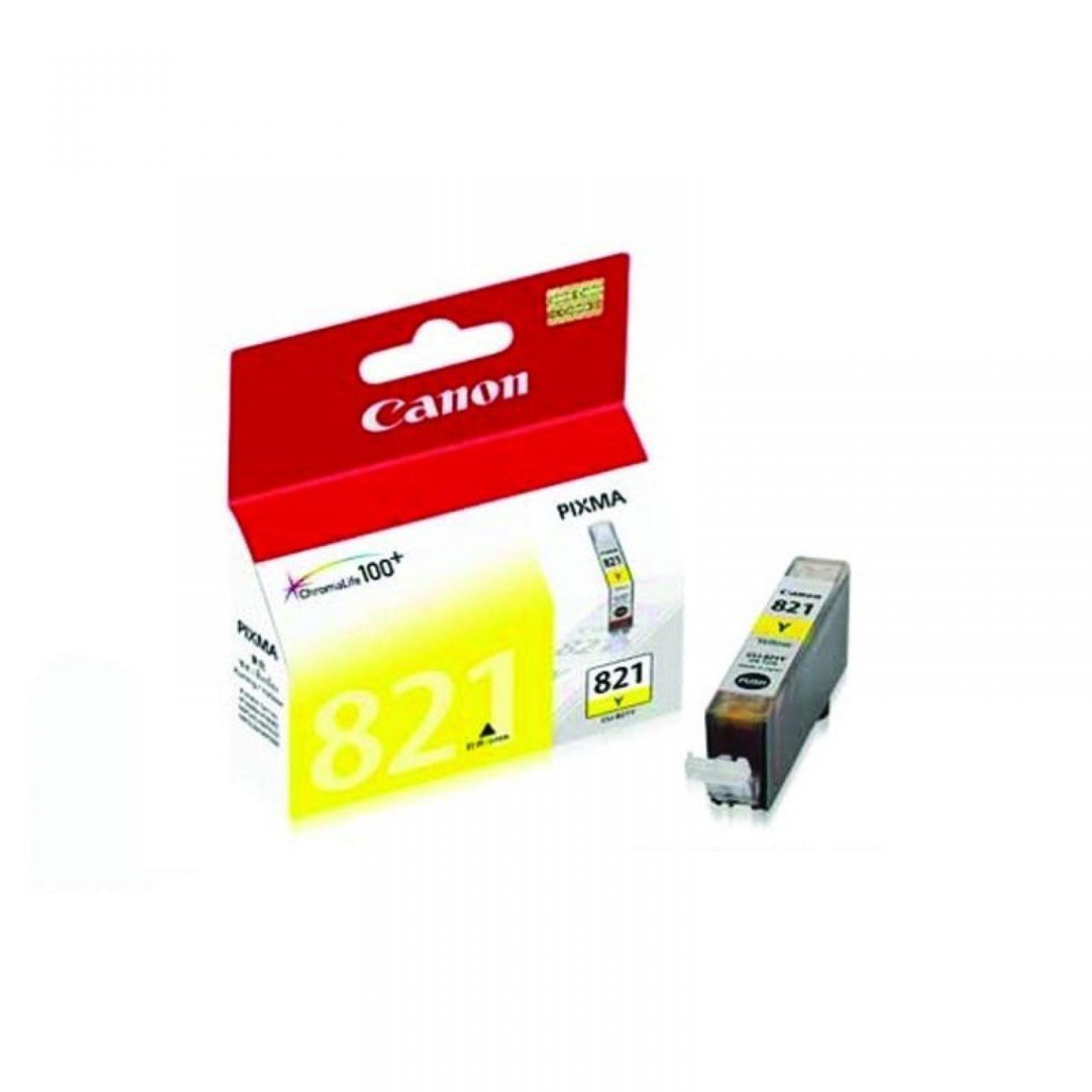 CANON - Ink Cartridge CLI-821 Yellow [CLI821Y]