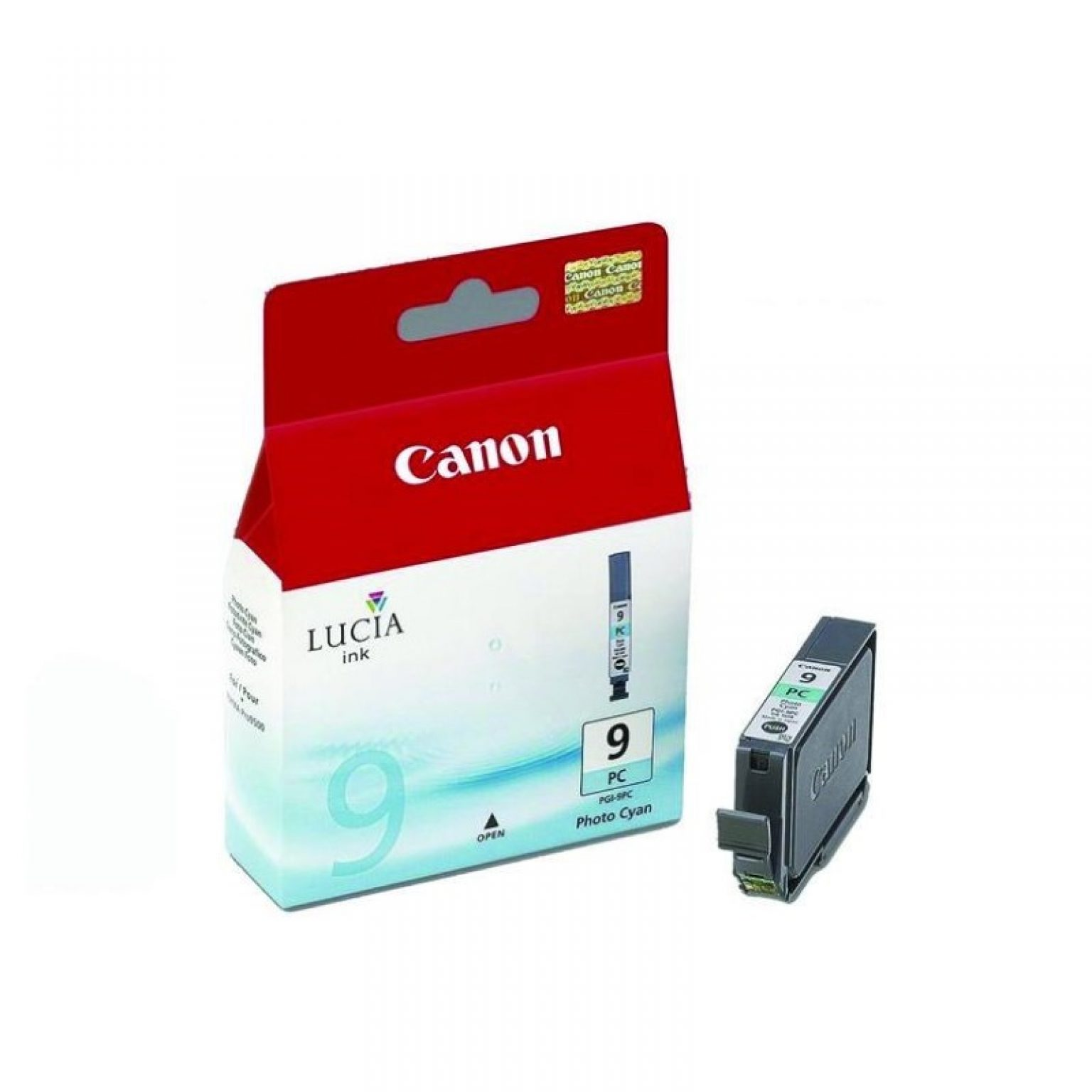 CANON - Ink Cartridge PGI-9 Photo Cyan (LUCIA INK) [PGI-9 PC]
