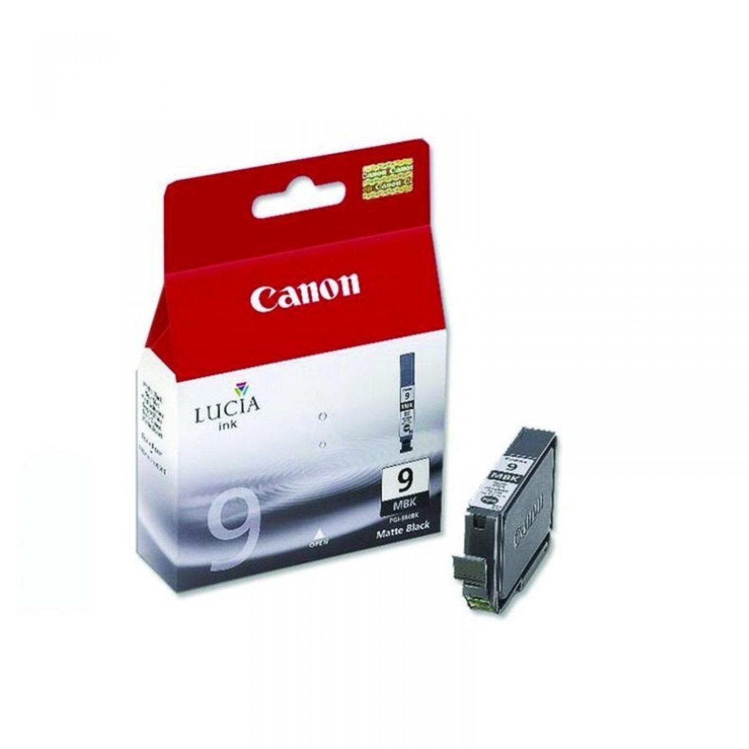 CANON - Ink Cartridge PGI-9 Matte Black (LUCIA INK) [PGI-9 MBK]
