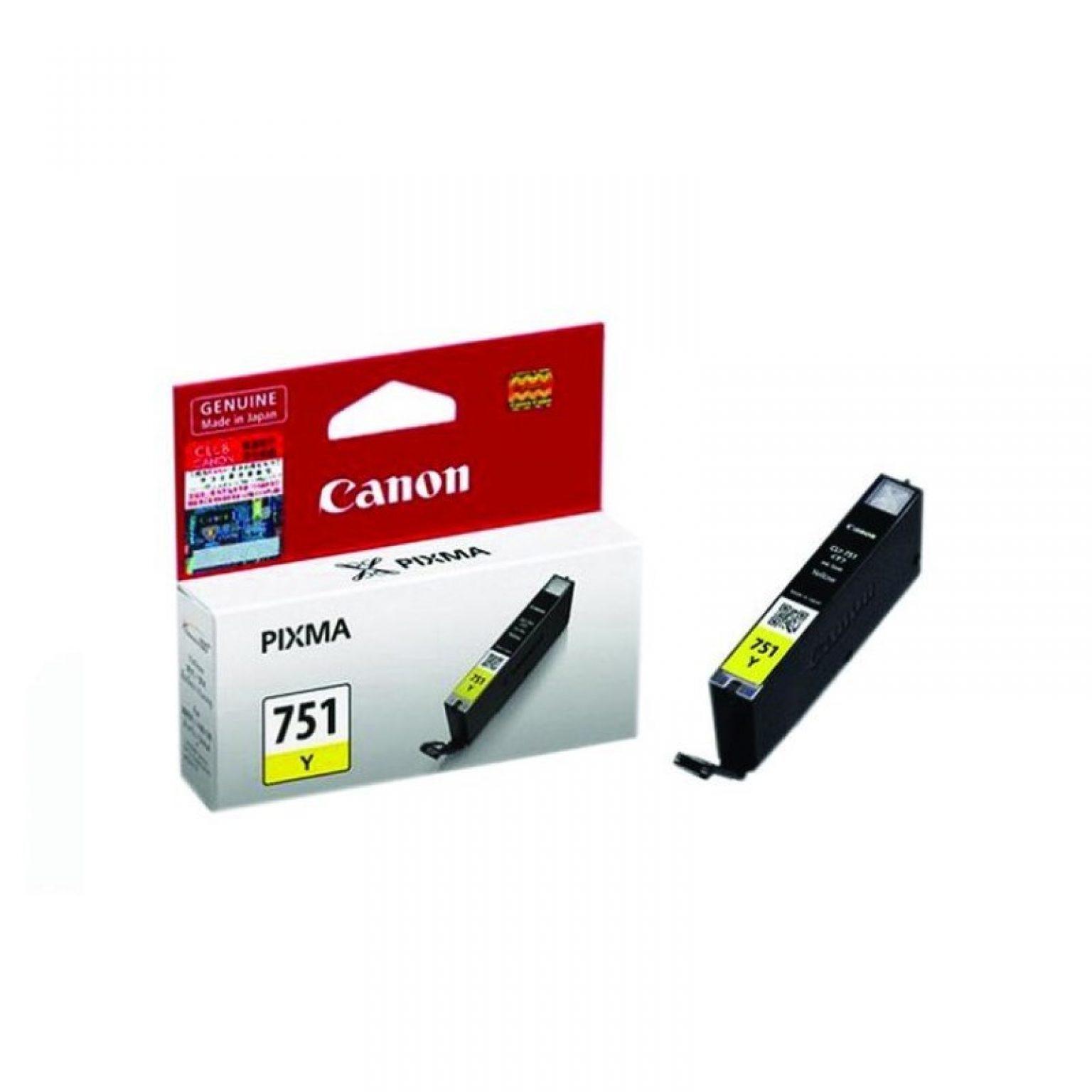 CANON - Ink Cartridge CLI-751 Yellow [CLI751Y]