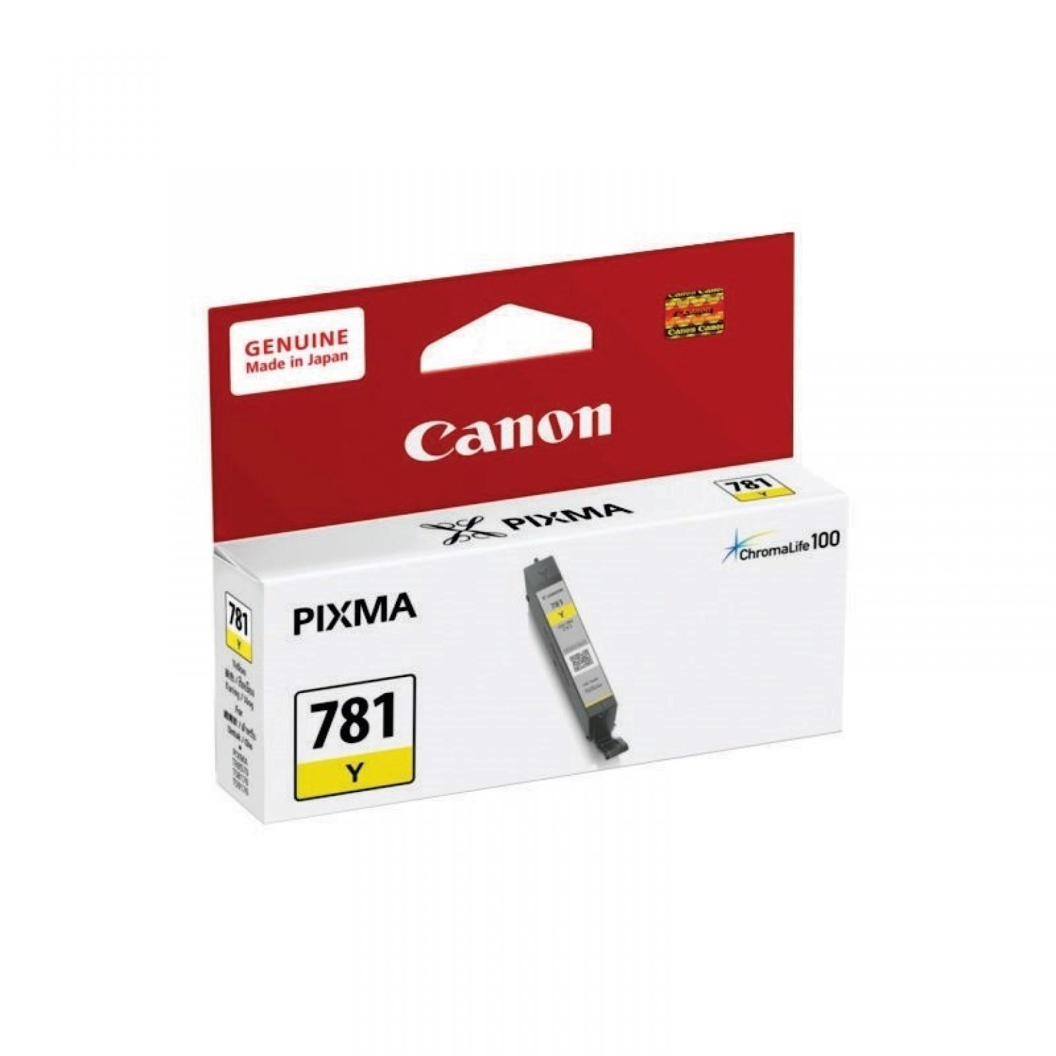 CANON - Ink Cartridge CLI-781 Yellow [CLI-781 Y]