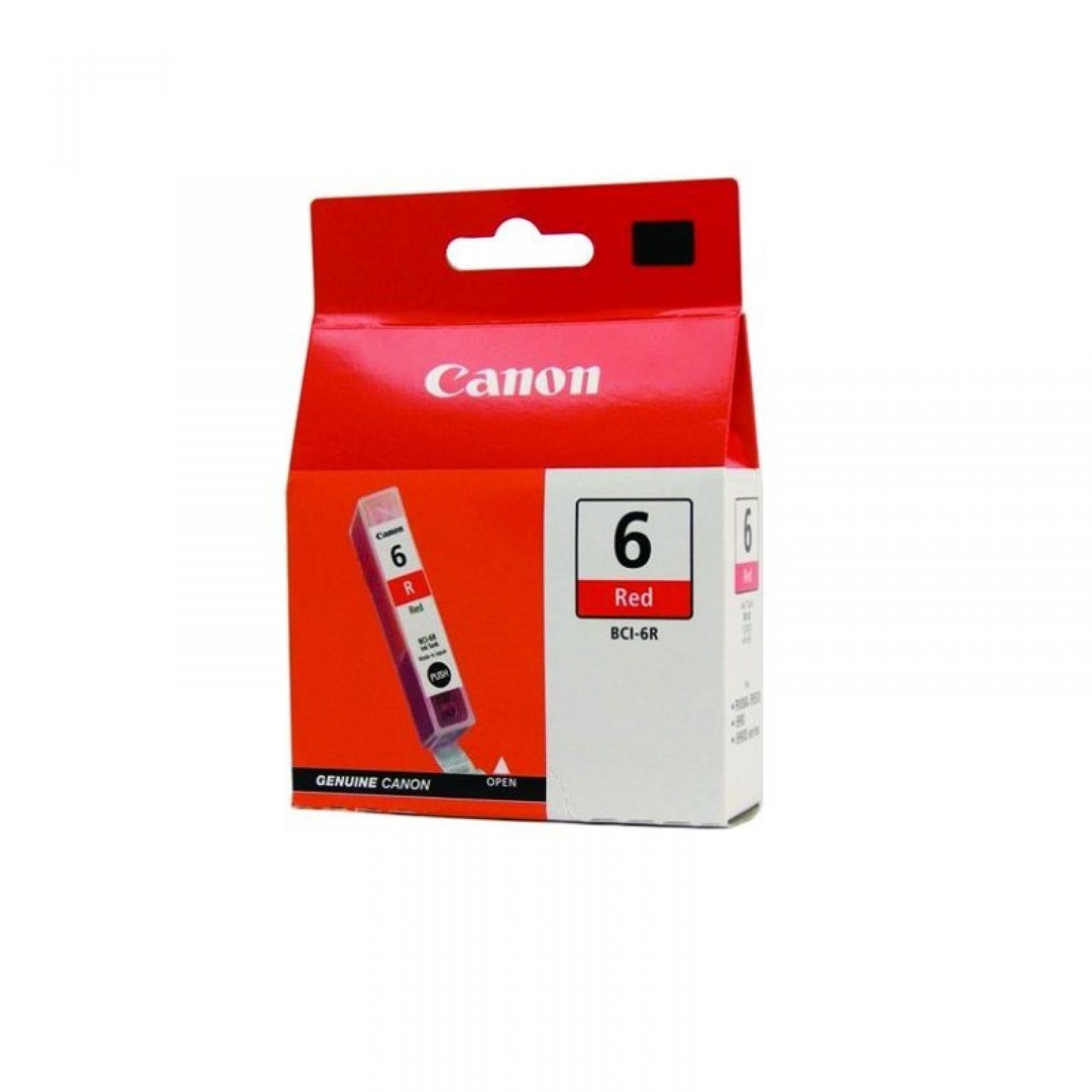 CANON - Ink BCI-6 Red [BCI6R]