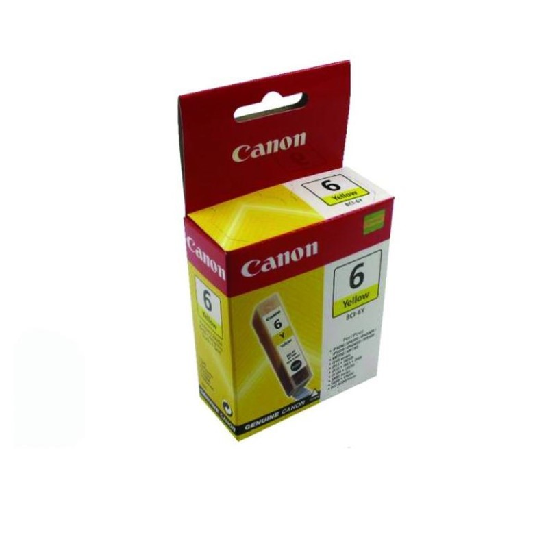 CANON - Ink BCI-6 Yellow [BCI6Y]