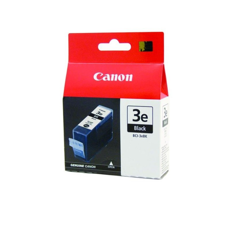 CANON - Ink Cartridge BCI-3e Black [BCI3eB]