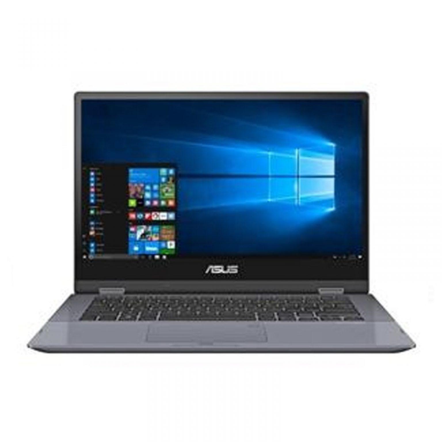 ASUS - VivoBook Flip TP412UA-EC502T (i5-8250U/4GB RAM/256GB/14inch/Win10SL/Silver Blue)