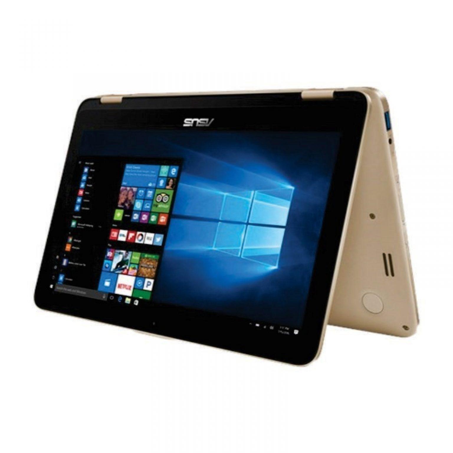 ASUS - VivoBook Flip TP203NAH-BP012T (N3350/4GB RAM/1TB HDD/Win10SL/Shimmering Gold)