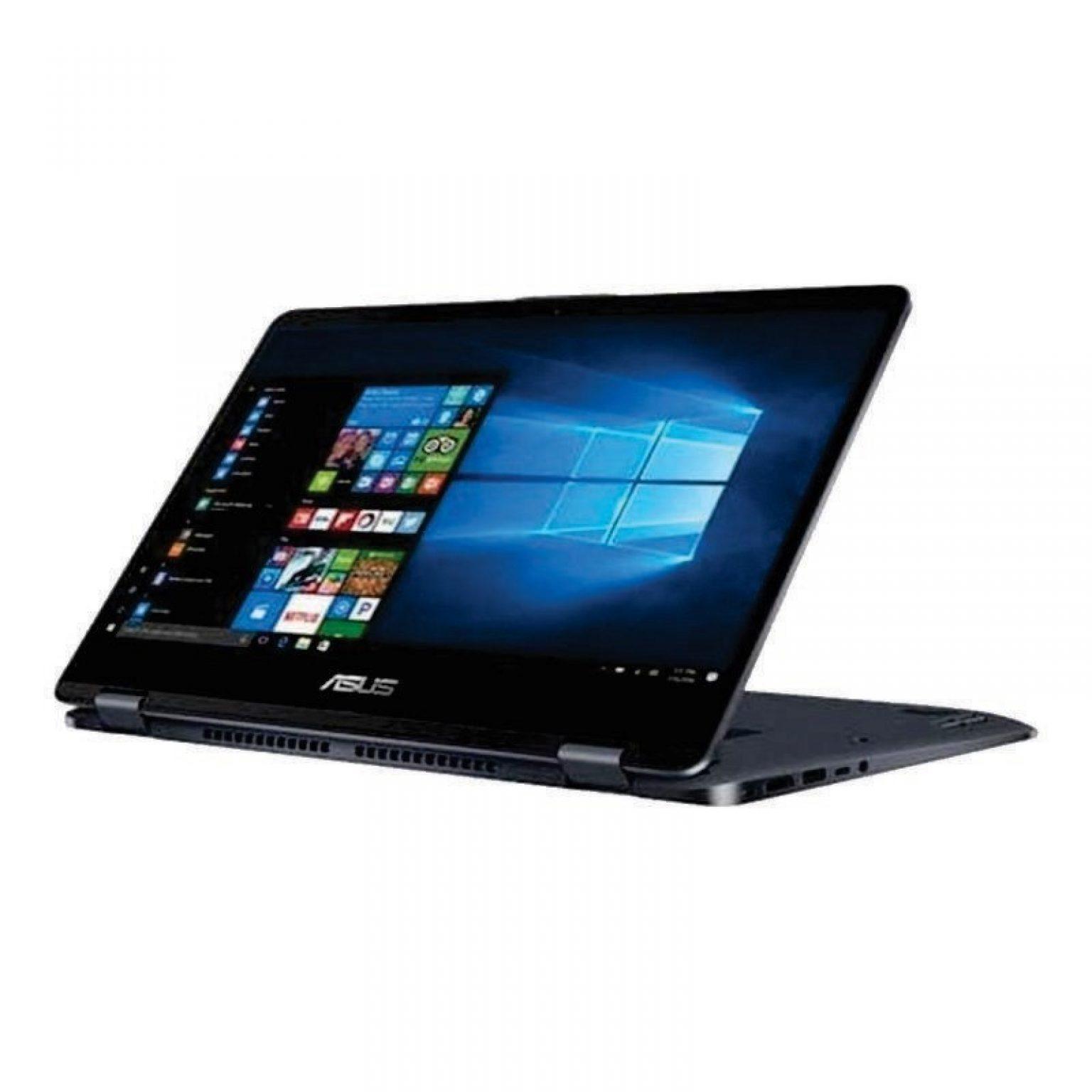 ASUS - VivoBook Flip TP410UF-EC027T (i7-8550U/8GB RAM/1TB HDD+128GB SSD/MX130/Touch/Win10SL/Star Grey)