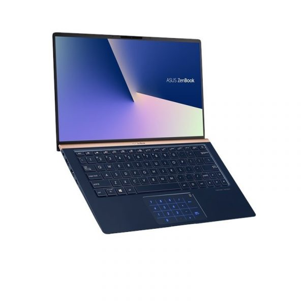 ASUS - ZenBook Classic UX433FN-A7611T (i7-8565U/16GB RAM/512GB SSD/MX150/Win10SL/Royal Blue)