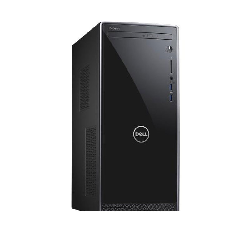 DELL - Inspiron 3670 Desktops (i3-9100/8GB DDR4/1TB HDD/Intel UHD Graphics 630/Ubuntu/Dell 20 Monitor - E2016HV)