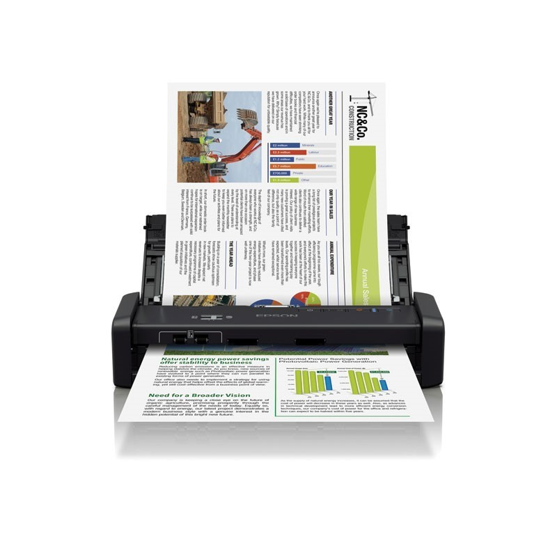 EPSON - DS-360W Portable Scanner