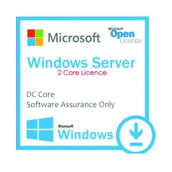 MICROSOFT - [Windows Server DC Core] WinSvrDCCore SA OLP 2Lic NL Gov CoreLic Qlfd [Pemerintah]