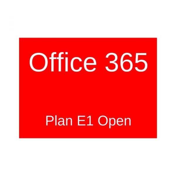 MICROSOFT - [O365 E1 Open]O365E1Open ShrdSvr SubsVL OLP NL Annual Gov Qlfd[Pemerintah]