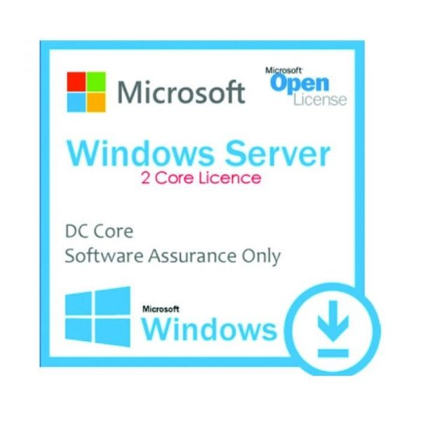 MICROSOFT - [Windows Server DC Core]WinSvrDCCore LicSAPk OLP 2Lic NL Gov CoreLic Qlfd[Pemerintah]