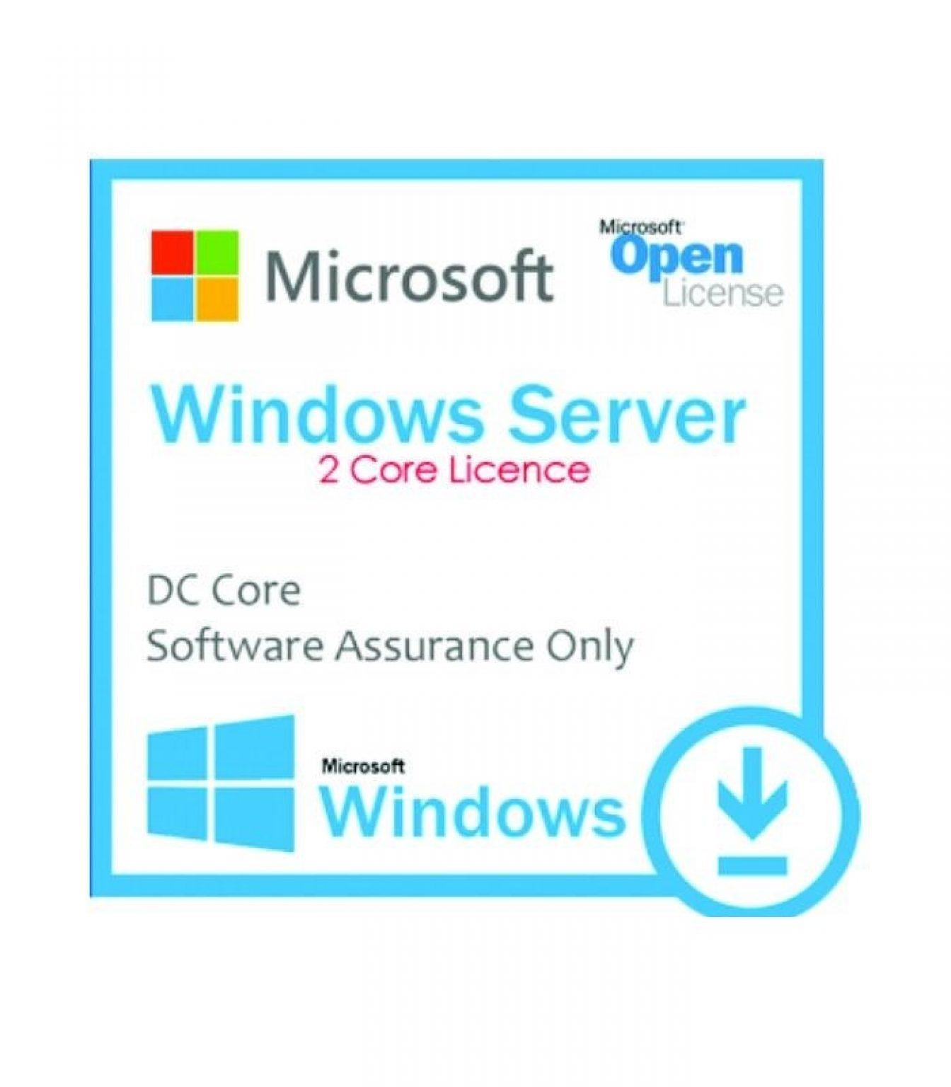 MICROSOFT - [Windows Server DC Core] WinSvrDCCore LicSAPk OLP 2Lic NL Gov CoreLic Qlfd [Pemerintah]