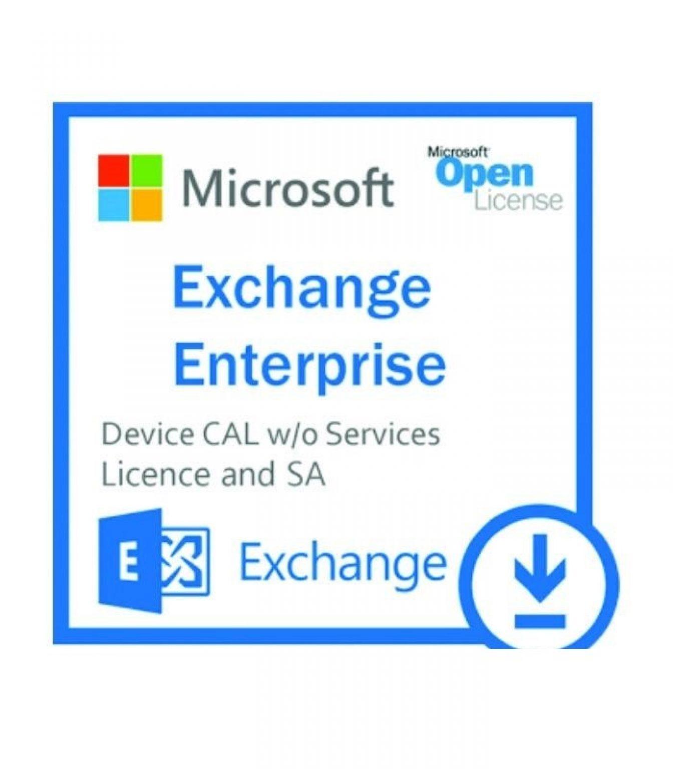 MICROSOFT - [Exchange Enterprise CAL]ExchgEntCAL SNGL LicSAPk OLP NL Acdmc UsrCAL woSrvcs[Pendidikan]
