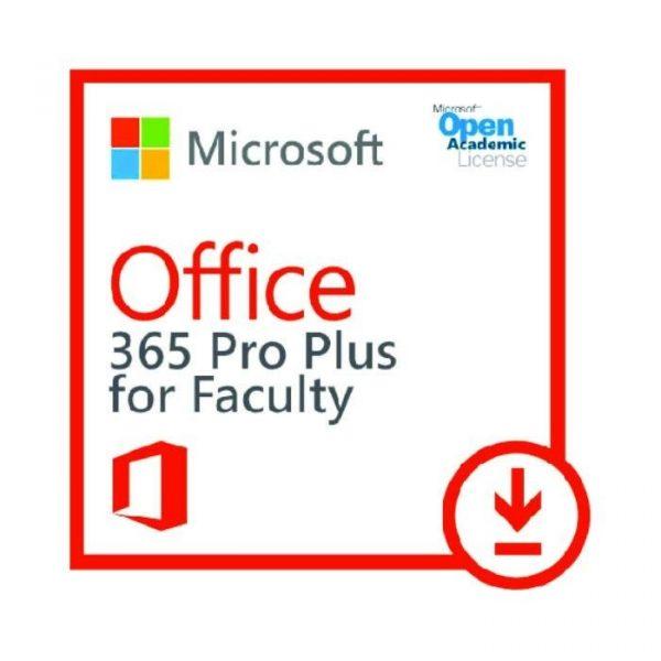 MICROSOFT - [O365 ProPlus Open for Faculty]O365ProPlusOpenFaculty ShrdSvr ALNG SubsVL OLV E 1Mth Acdmc AP[Pendidikan]