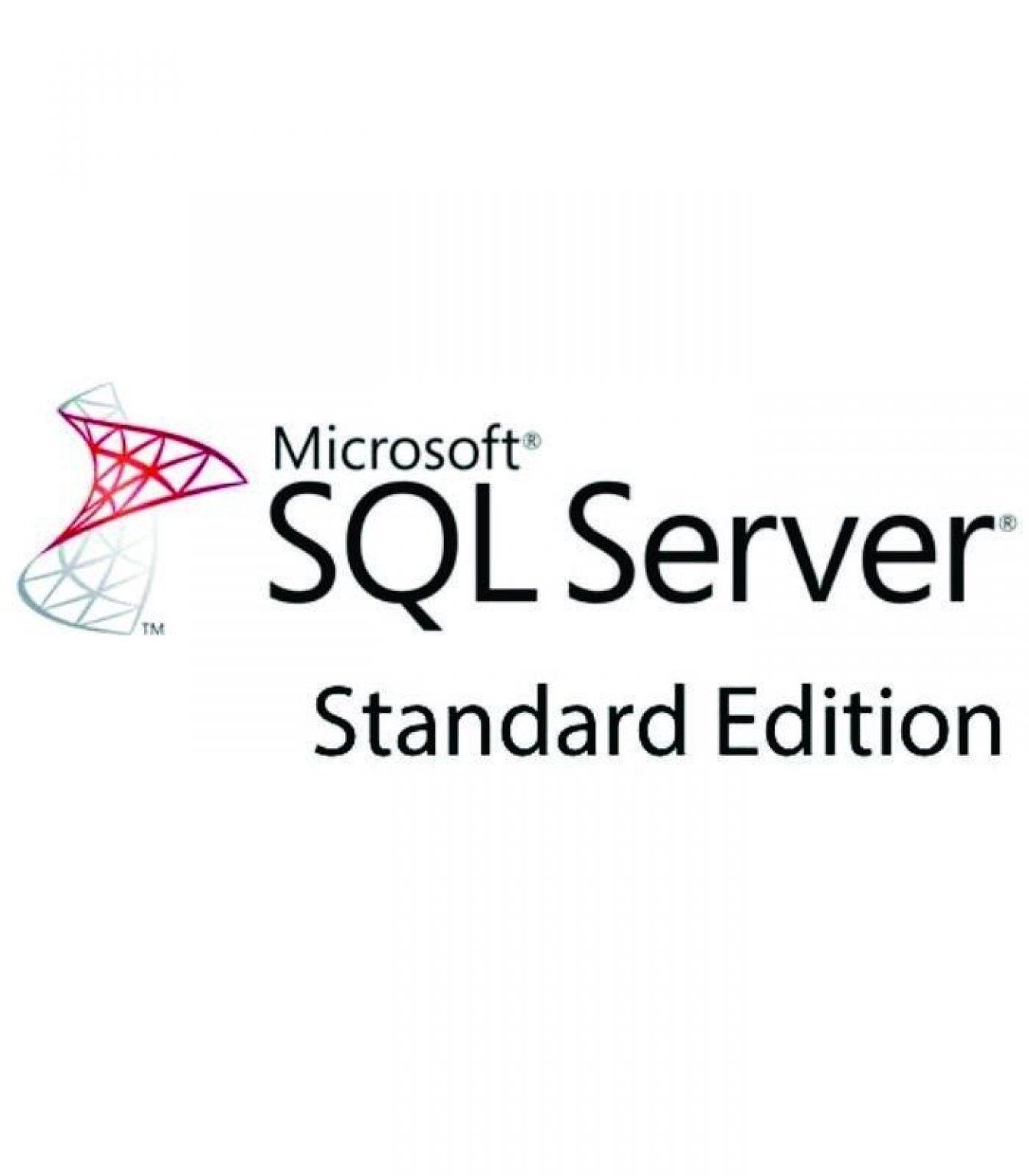 MICROSOFT - [SQL Server Standard Edition]SQLSvrStd ALNG LicSAPk OLV E 1Y Acdmc AP[Pendidikan]