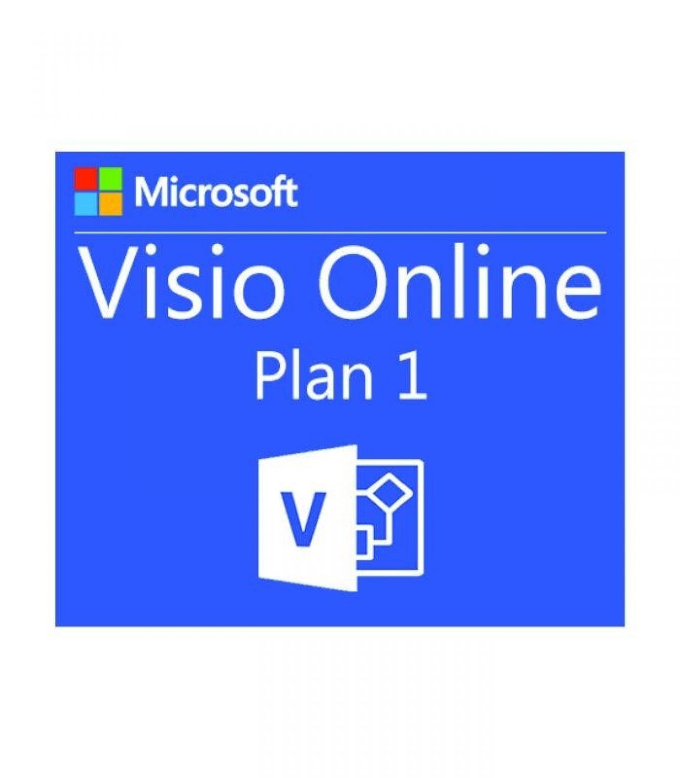 MICROSOFT - [Visio Online Plan 1 Open Faculty]VisioOnlnP1OpenFclty ShrdSvr ALNG SubsVL OLV E 1Mth Acdmc AP[Pendidikan]