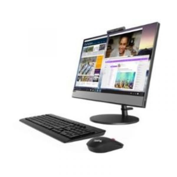 LENOVO - AIO V530-22ICB-HOIF (i5-9400T/4GB DDR4/1TB HDD/Keyboard, USB Optical Mouse/Intel HD Graphics/W10/21.5inch Touch) [10US00H0IF]