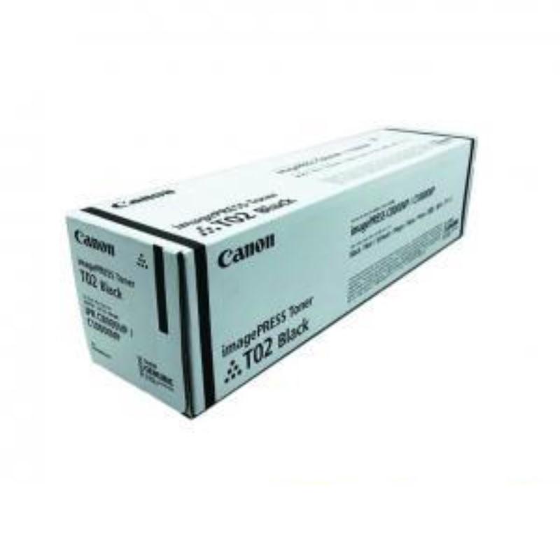 CANON - Black Toner Cartridge T02