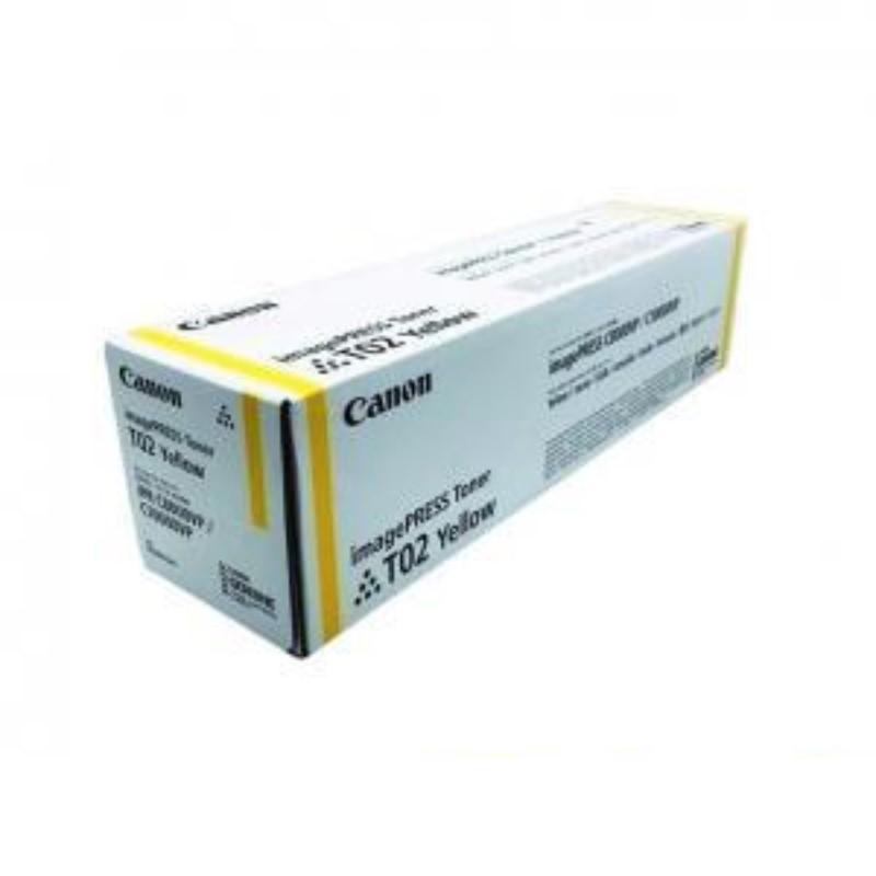 CANON - Yellow Toner Cartridge T02