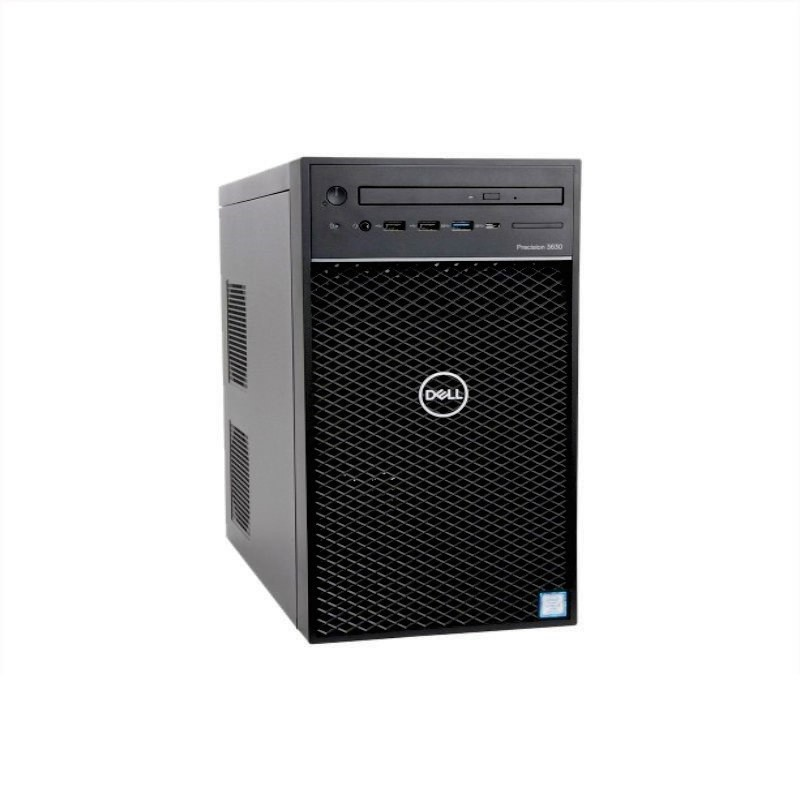 DELL - Precision 3630 Tower (Xeon E-2174G/8GB 2x4GB DDR4/1TB /P620 2GB/Win10P/22 Monitor - P2219H)