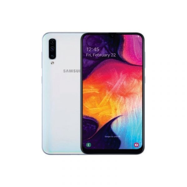 SAMSUNG - A50 64 GB White [SM-A505FZWDXID]