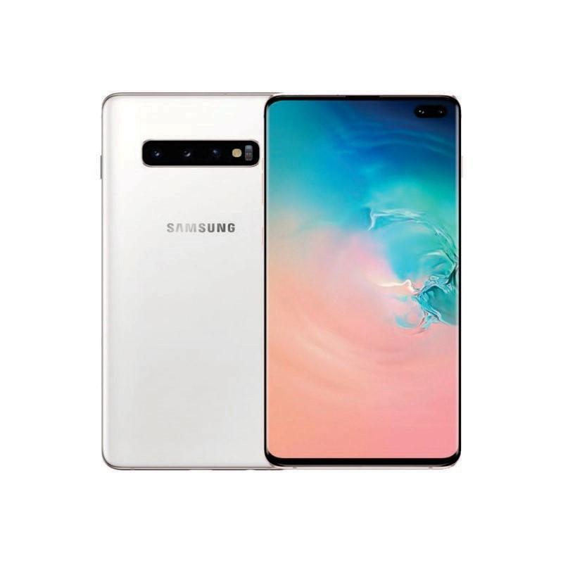 SAMSUNG - S10 128 GB White [SM-G973FZWDXID]
