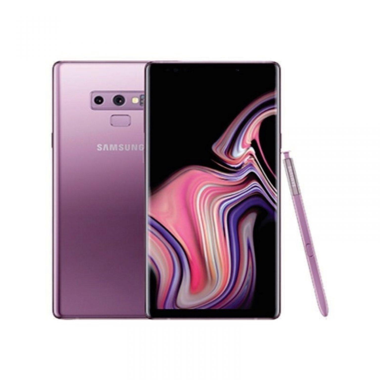 SAMSUNG - Note 9 128 Purple [SM-N960FZPDXID]