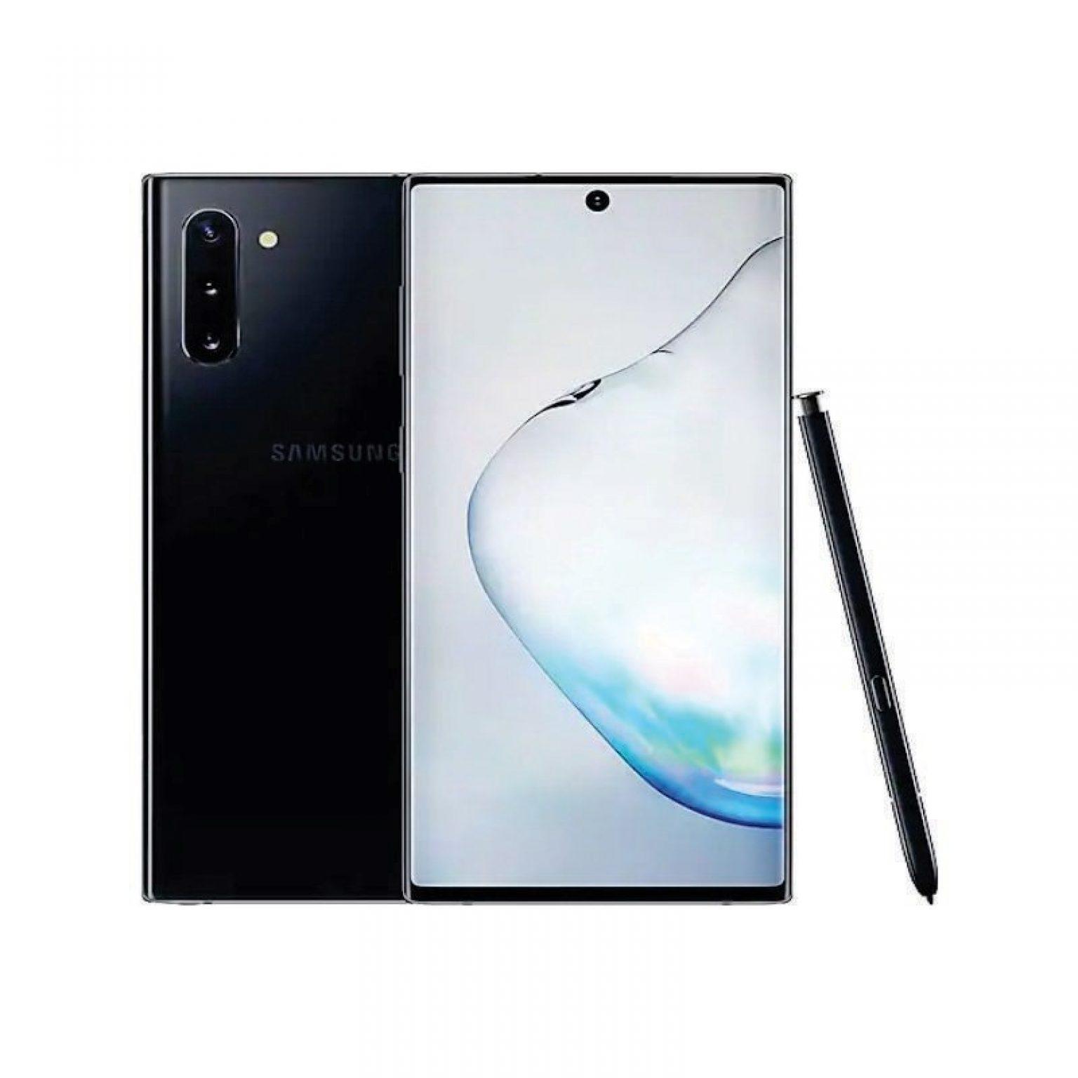 SAMSUNG - Galaxy Note 10 Aura Black [SM-N970FZKDXID]